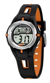 Calypso Kinder/Jugend Armbanduhr Digitaluhr Alarm Orange K5506/2