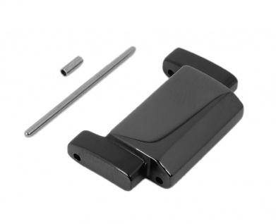 Casio Glied für Armband aus Edelstahl schwarz für Edifice EQB-500DC