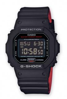 Casio G-Shock Digitale Herrenuhr DW-5600HR-1ER in schwarz mit Multifunktionsalarm