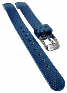 Calypso Ersatzband blau Uhrenarmband Kunststoff Dornschließe K5736 K5736/6