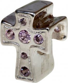 Charlot Borgen Marken Damen Bead Beads Drops Silber mit Zirkonia SCZ-32-Rosa