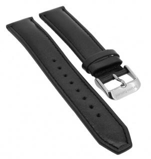 Bruno Banani Taras Ersatzband 19mm in schwarz aus Leder TL0 201 301 BR21115 BR21116