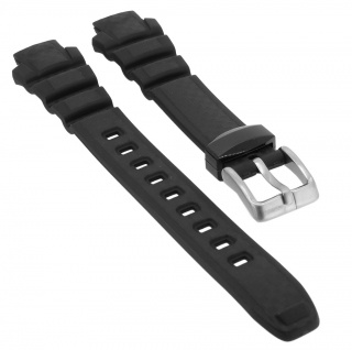 Calypso Chrono Ersatzband Kunststoff schwarz Schließe silberfarben Spezial Anstoß K5684/1 K5684