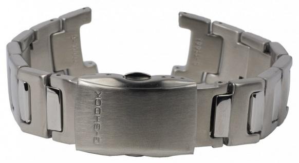 Casio G-Shock Armband Uhrenarmband Edelstahl Band Silberfarben für GW-600DE
