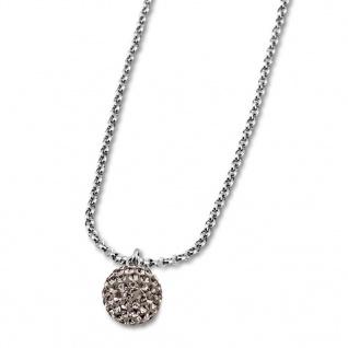 Lotus Style Damenschmuck Halsschmuck Collier Kette mit Zirkonia LS1405-1/3