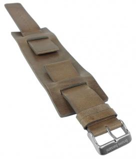 Bruno Banani IRO Ersatzband 25mm Leder hellbraun BC3 145 345 BR21075 BR21076 BR21077 BR21078