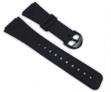 Casio Uhrenarmband Resin Band schwarz für AQ-47-1 AQ-47-7 AQ-47-9