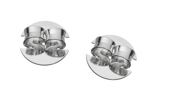 Minott Erstohrstecker Verschluss Ø 10mm Stopper Ohrmutter Silber 925