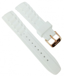 Calypso Ersatzband weißes Band Kunststoff Dornschließe K5650/3 K5650