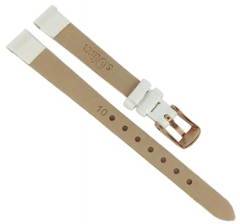 s.Oliver Ersatzband 10mm Kunstleder glatt weiß Lederband SO-3743-LQ - Vorschau 2