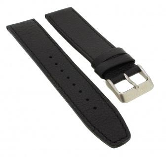 Bruno Banani Neos Ersatzband 21mm in schwarz aus Leder B83 000 301 BR21035