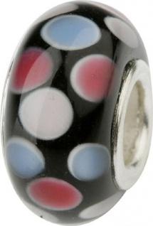 Charlot Borgen Marken Damen Bead Beads Drops Kristallglas Silberkern GPS-20Pink