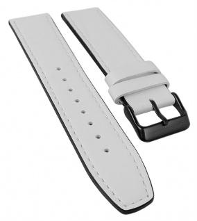 Bruno Banani Neos Ersatzband 21mm in weiß aus Leder B83 906 306 BR21035 BR21036