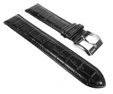 Hugo Boss Ersatzband Leder schwarz 20mm 1512092 1512093 1512168 1512169 1512170