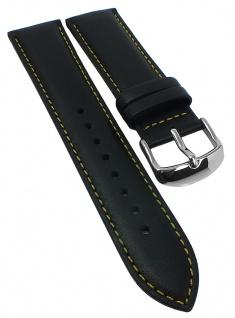 Casio Edifice Herren EFV-570 Ersatzband 22mm schwarz Leder EFR-570BL