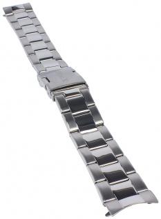 Timex Chasapeake Uhrenarmband Ersatzband Edelstahl silbern 20mm für TW2P77200