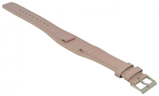 Festina Uhren Uhrenarmband Leder Band Rosa mit Unterlage 17mm für F16181/B F16181