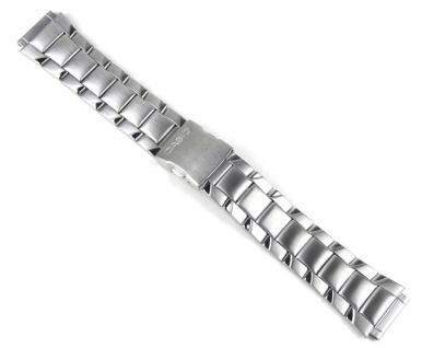 Casio Uhrenarmband Edelstahl Band Silberfarben für AW-S90D AW-S90
