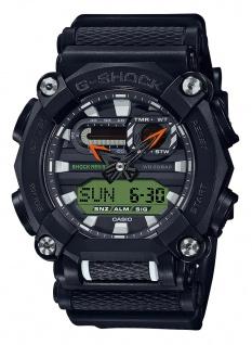 Casio G-Shock Analog /Digital Herrenuhr Resin Illuminator Stoßfest GA-900E-1A3ER