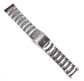 Casio Edifice Uhrenarmband Edelstahl Band 24mm für EF-333D EF-333