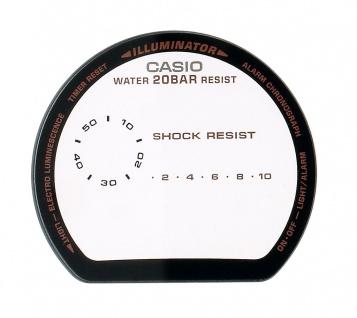 Casio Ersatzglas | Uhrglas Mineralglas rund für G-Shock DW-9052 DW-9052GBX-1A4ER