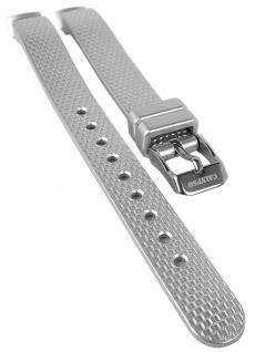 Calypso Uhrenarmband Kunststoff Band silbern Dornschließe K5736 K5736/1