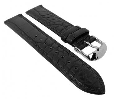 Lotus Uhrenarmband 21mm aus Leder glänzend für L18239/1 L18239/2 L18239/3