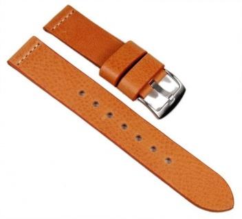 Minott Uhrenarmband XXL Leder Band 22mm