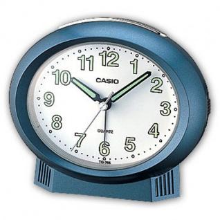 Casio Analog Wecker Beep Alarm mit Light Blau TQ-266-2EF