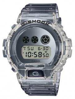 Casio G-Shock Digital Herrenuhr Stoßfest Stoppfunktion Display Flasher DW-6900SK-1ER