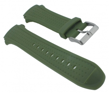 Calypso Herren Ersatzband grün Kunststoff Dornschließe K5722/2 K5722