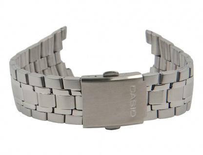 Casio Edifice Uhrenarmband Edelstahl Band Silberfarben für EF-304D 10468317