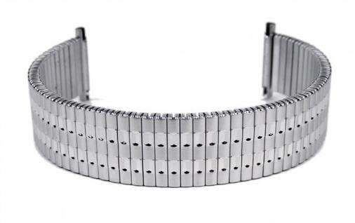 Flexband Zugband Ersatzband Edelstahl Band 18mm - 20mm 23594