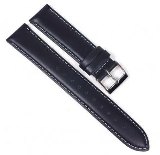 Casio Uhrenarmband Leder Band schwarz 20mm für WVA-M240