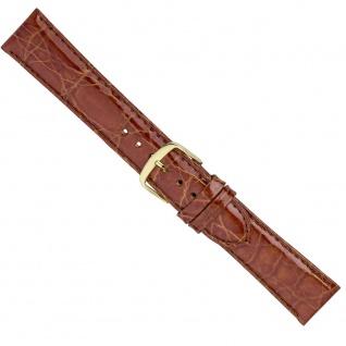 Uhrenarmband Ersatzband Leder Band Braun 26575G