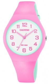 Calypso K5777 Kinderuhr analog bicolor Kunststoff Armbanduhr Uhr K5777/6