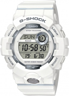 Casio G-Shock SQUAD Digitale Bluetooth® Smart Herrenuhr GBD-800-7ER mit Step Tracker