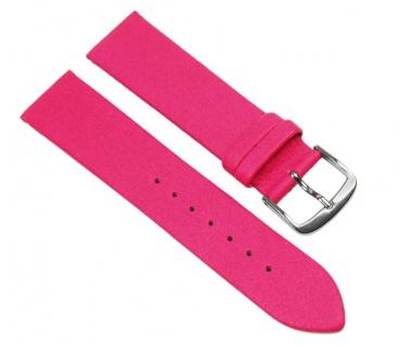 Eulit Uhrenarmband Ersatzband Lorica Band Wasserfest Pink 20mm 23718S