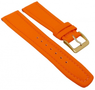 Graf Manufaktur Montana Uhrenarmband Walknappa Band Orange 26376G