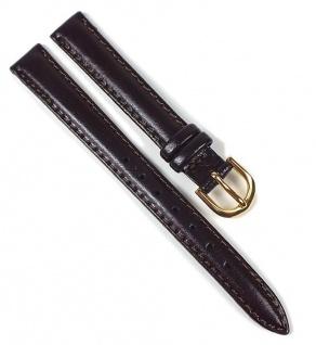 Casio Uhrenarmband Leder Band Braun 12mm LTP-1261