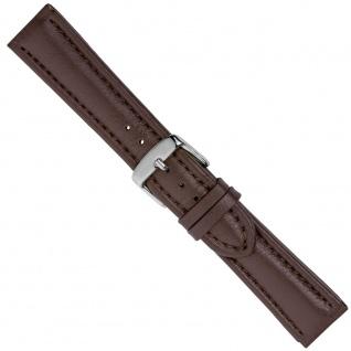 Uhrenarmband Ersatzband Leder Band Braun 26550S