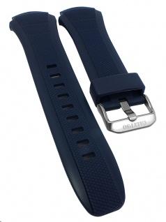 Calypso Ersatzband Kunststoff blau Dornschließe silbern Spezialanstoß K5676/9