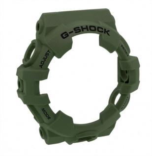 Casio G-Shock Lünette Bezel olivgrün mit schwarzer Schrift für GA-700UC