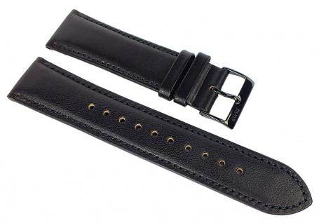 Hugo Boss Navigator Ersatzband 22mm Leder Band schwarz 1513497