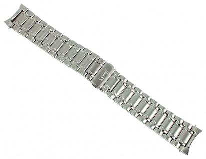 Uhrenarmband 22mm aus Edelstahl für Hugo Boss Aeroliner Chronographen 1513181 1513182 1513183