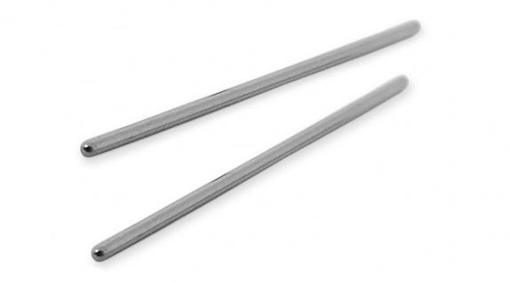 Minott ? 2 x Band - / Verbindungs- / Stift Länge 30mm ? Edelstahl silberfarben