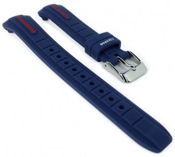Calypso Ersatzband blau Uhrenarmband Kunststoff Band Dornschließe K6068/4 K6068