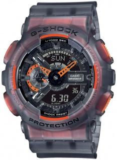 Casio G-Shock Analog /Digital Herrenuhr Geschwindigkeitsanzeige GA-110LS-1AER