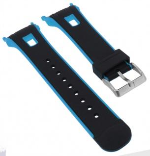 Calypso Ersatzband schwarz Kunststoff Dornschließe silberfarben Spezial Anstoß K5610/6 K5610