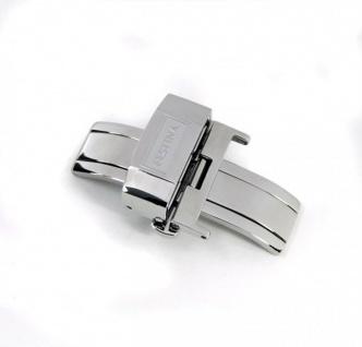 Festina Edelstahl Faltschließe für Festina Armbänder mit 22mm Schließenanstoß F16184